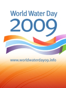 Logo del Día Mundial del Agua