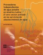Proveedores independientes de agua potable en america latina