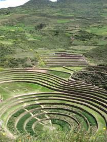 Sistema de Andenes de Moray.....