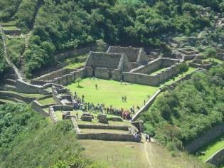 Ciudadela de Choquequirao en el Cusco...