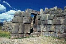 Ciudadela de Sacsayhuaman en el Cusco....