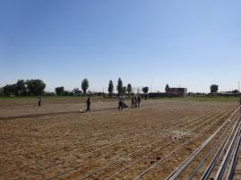 ...en el campo demuestra la necesidad de tecnificar el agro, un mejor uso del agua...
