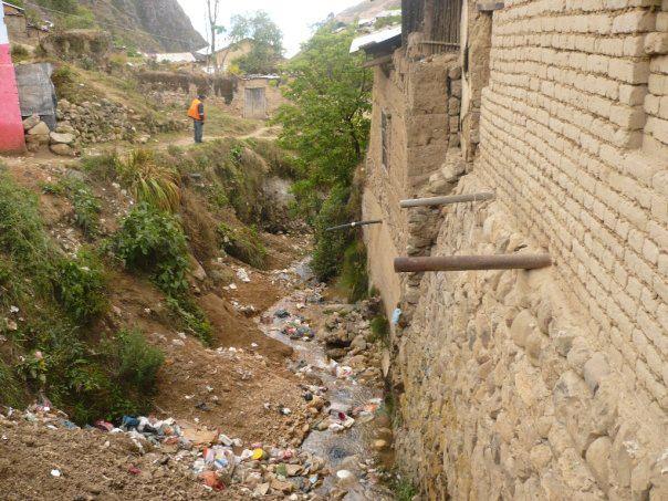 Contaminación poblacional. Hualgayoc, Cajamarca