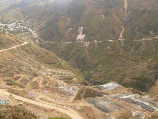Cerca de Hualgayoc, pasivos ambientales del ex Banco Minero del Perú