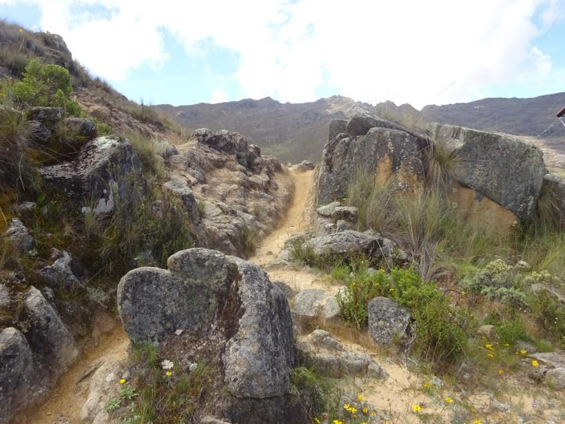 Caida Canal Huirucatac
