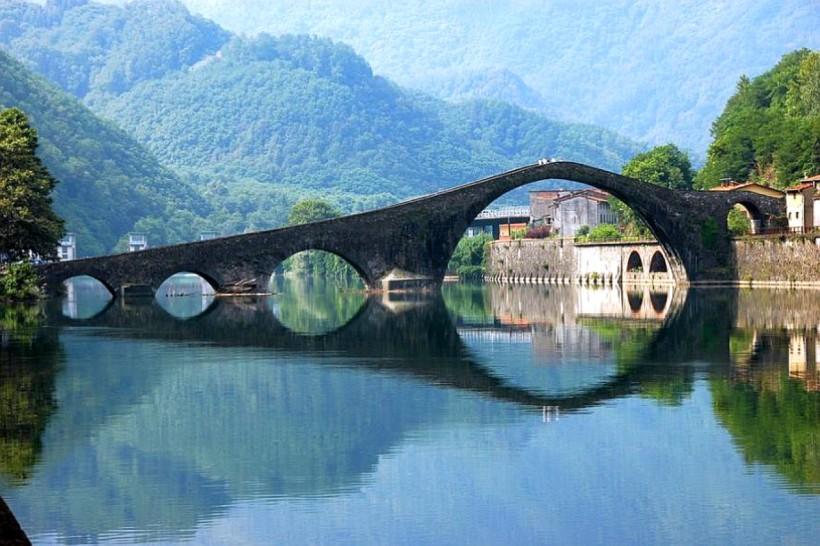 Río Serchio en Italia