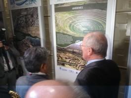 Visita del Presidente Pedro Pablo Kuczynski a la muestra fotográfica