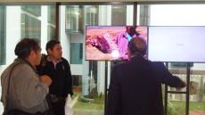 Material audiovisual que causo el interés de los participantes...