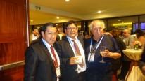 Con nuestro amigo Hibber y un investigador Chileno quien hizo una nota sobre Saywite