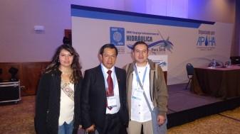 Nuestro amigo José Luis de la Universidad Autónoma de México.