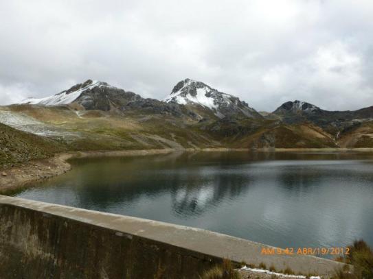 La laguna Rahuite se encuentra a 4,504 msnm. Tiene una capacidad de almacenamiento de 3.45 MMC (millones de metros cúbicos)