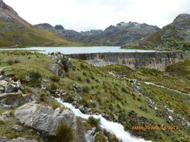 Laguna Chungar, esta ubicada a 4,505 msnsm. Tiene una capacidad de almacenamiento de 14.26 MMC