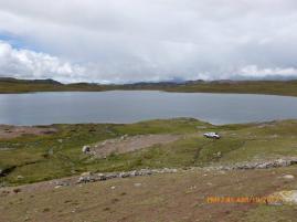 Laguna Barrasococha, una capacidad de almacenamiento de 0.5 MMC