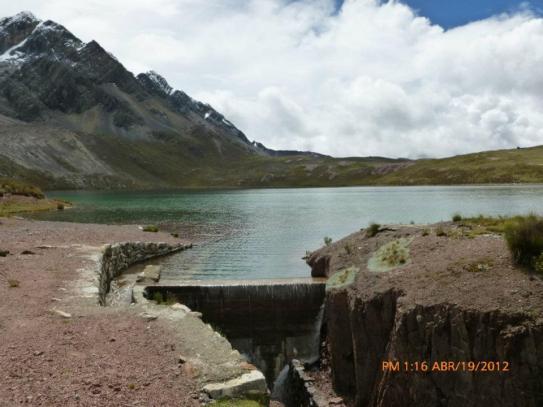 Puajanca Baja a 4,683 msnm y con un volumen de 1.2 MMC