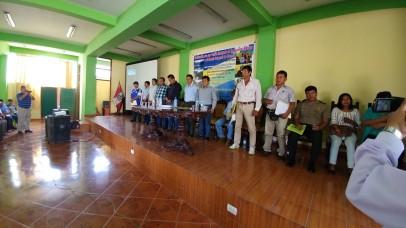 ...donde se conformó el Comité de Gestión de Recursos Hídricos de la Cuenca del Río Casma