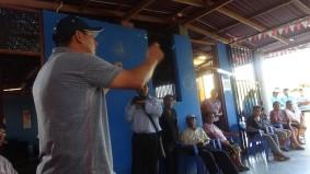 ...con agricultores de Cachipampa.....