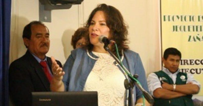 Designan a Hilda Santa María como viceministra de Desarrollo e Infraestructura Agraria