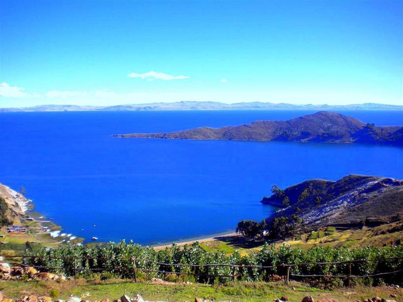 El hermoso Lago Titicaca, sitio Ramsar del Perú