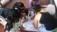 ...desarrollado de manera lúdica a través de una dinámica que llamamos: Dibujando La Cuenca