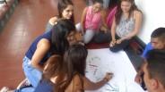 ...todos se integraban de manera participativa en el desarrollo de los conceptos