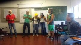De la misma manera cada grupo expuso y escenificó el concepto de cuenca, cada uno de ellos fueron creativos