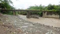 A las 8.10 am llegamos al cruce con el Río Nima, que es un aportante del río Amaime