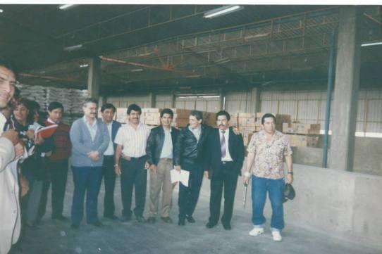 Equipo Nacional en el almacen de Pronaa Callao, desde donde se hicimos las mejoras