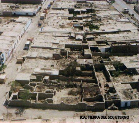 Atención extraordinaria de distribución de alimentos: Terremoto de Nasca en Noviembre de 1993 (Foto: El Comercio).